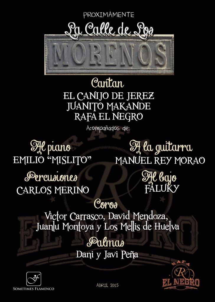 La Calle de los Morenos - Rafa El Negro - Sometimes Flamenco