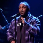 "Music guest Kendrick Lamar performs ""Untitled 2"" for the Tonight Show audience."
